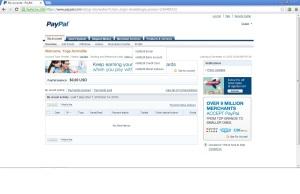 menu PayPal
