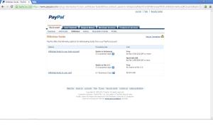 menu withdraw PayPal