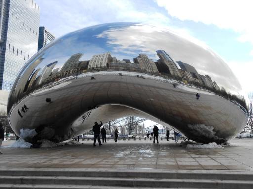 salah satu ikon Chicago