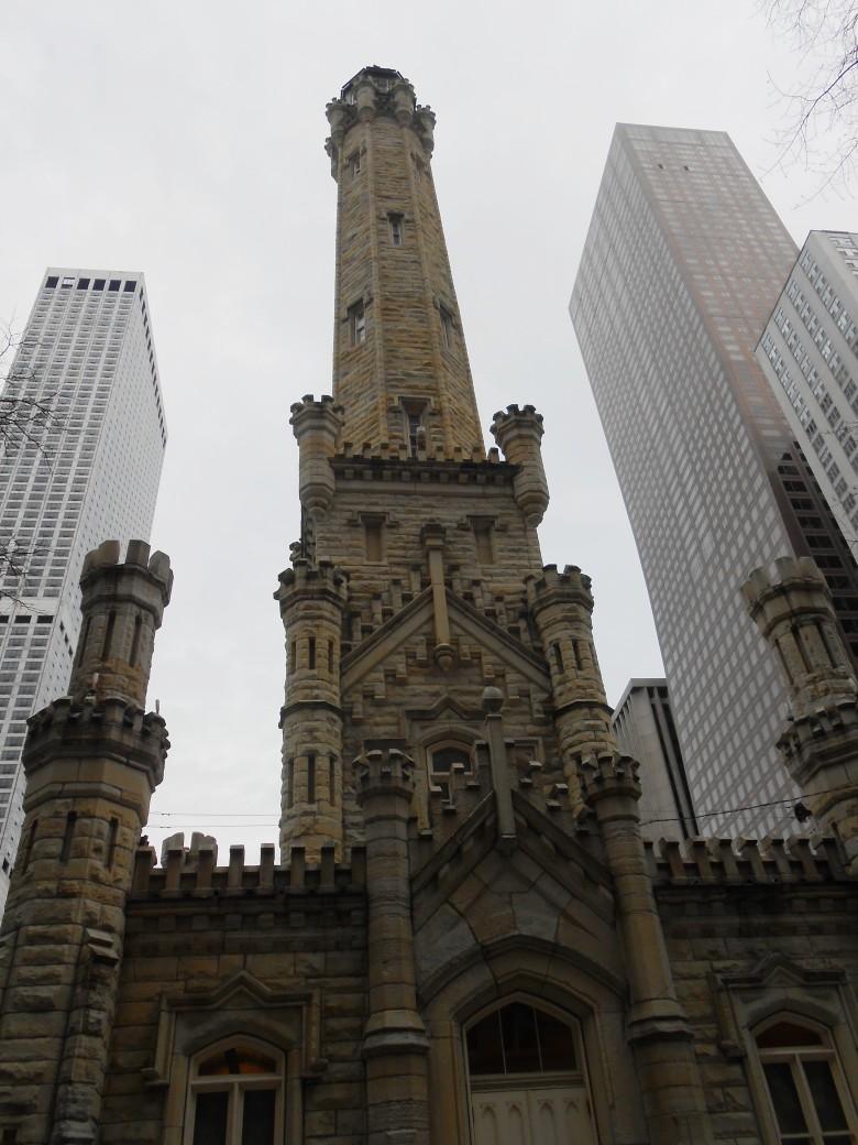 salah satu water tower tertua di Amerika