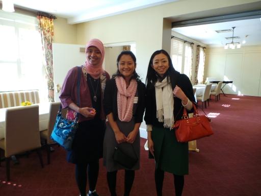 dua teman Jepang saya ini akan pulang ke negaranya bulan depan