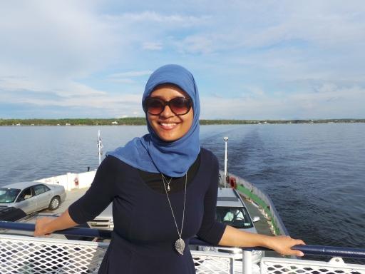 masih di atas ferry