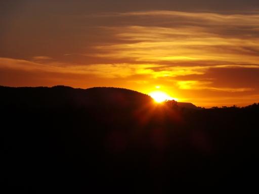 sunset di Sedona
