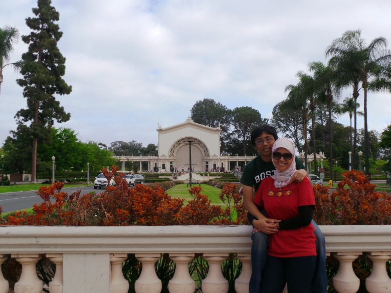 di tengah Balboa Park