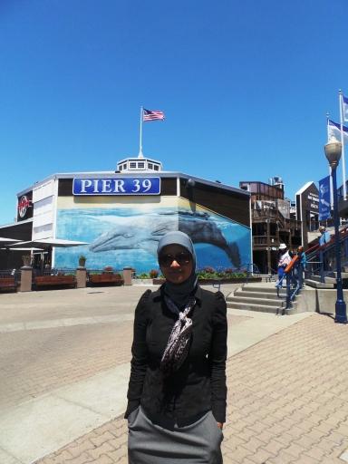 Pier 39, awal jalan-jalan kami