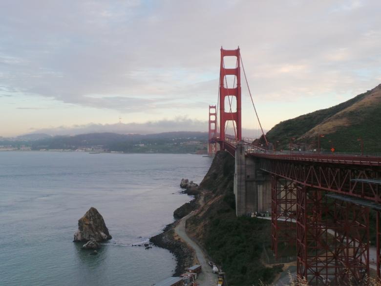 dari South Bound, seberang kota SF