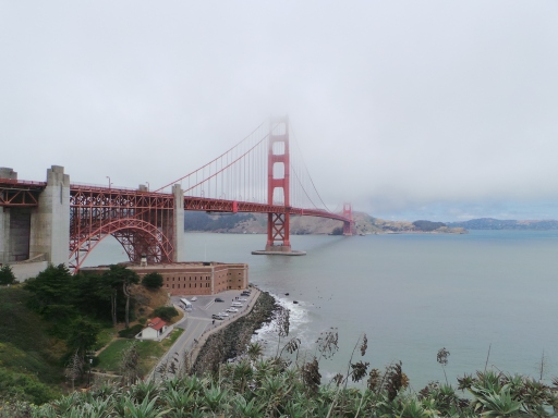 dari North Bound, ujung kota San Francisco
